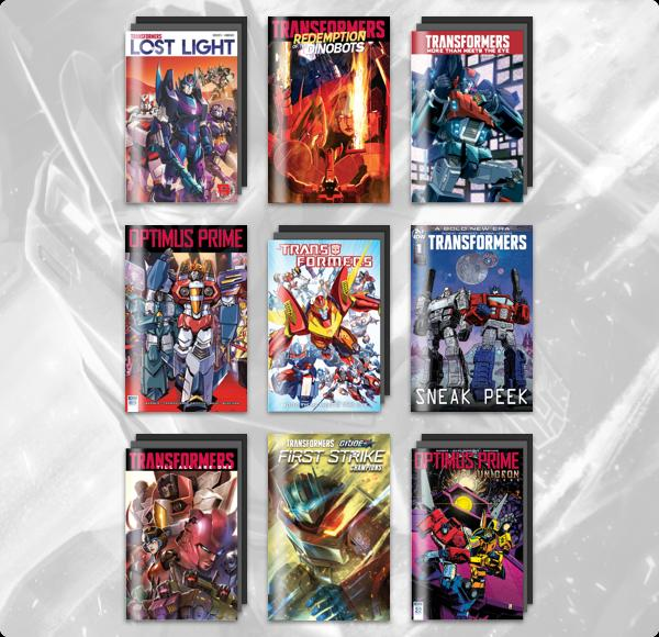 The Humble Comics Bundle: Transformers 2019 by IDW