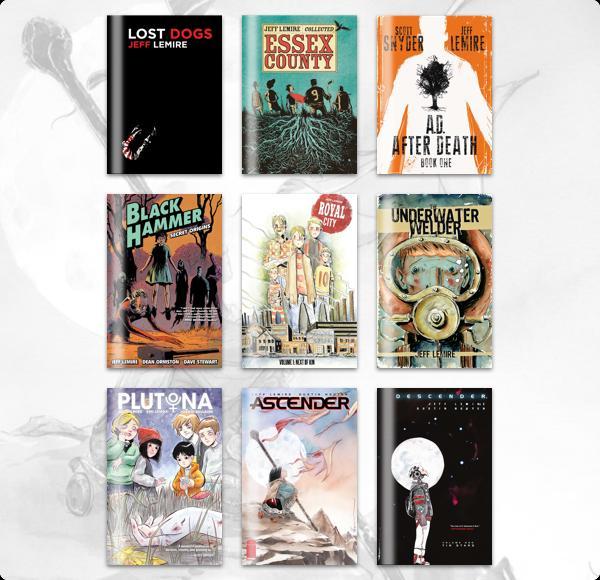 The Humble Comics Bundle: Creator Spotlight Jeff Lemire