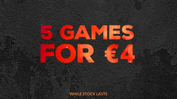 GreenManGaming 5 Games for $4 Bundle