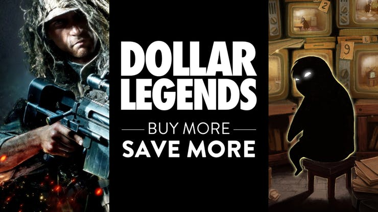 Fanatical Dollar Legends Bundle