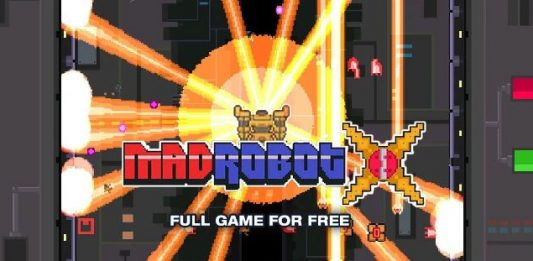 Get MadRobot X for FREE on IndieGala
