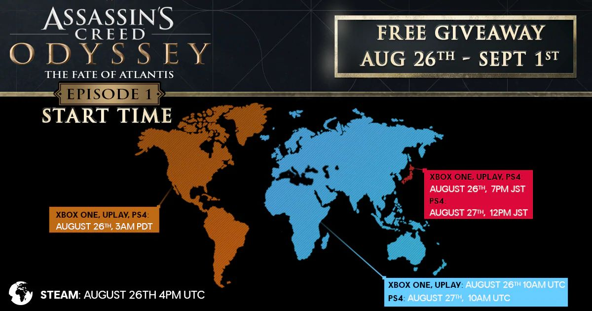 Assassin's Creed Odyssey – The Fate of Atlantis Episode 1 DLC