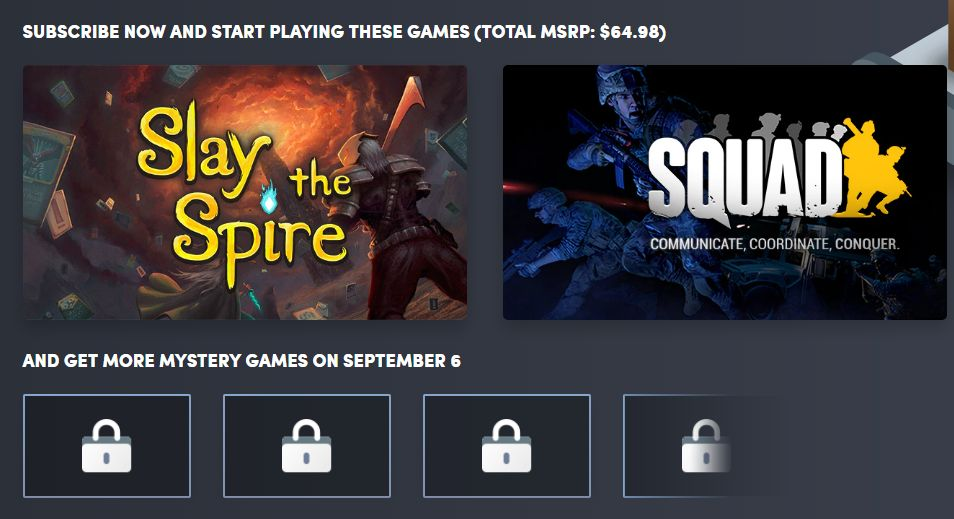 Humble Monthly Bundle September 2019