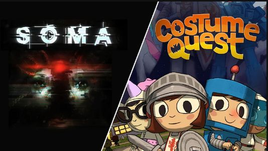 Get SOMA and Costume Quest for free at Epic Games Store