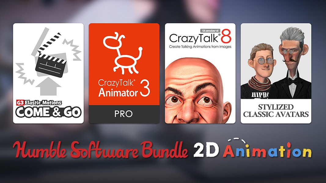 The Humble Software Bundle: 2D Animation