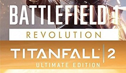 Battlefield 1 Revolution And Titanfall 2 Ultimate Edition Bundle ($12)