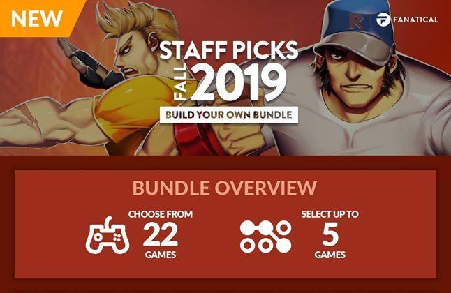 Fanatical Pick & Mix Staff Picks Fall 2019 Bundle