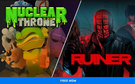 Get Nuclear Throne and Ruiner for free at Epic Games Store