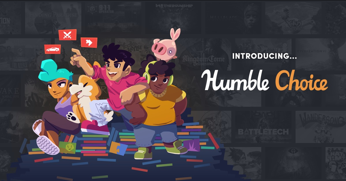 Humble Choice launches on December 6, 2019