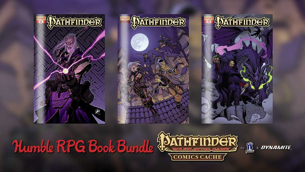 The Humble RPG Book Bundle: Pathfinder Comics