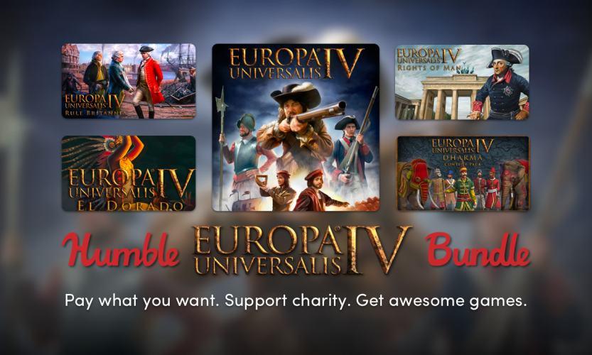 The Humble Europa Universalis IV Bundle