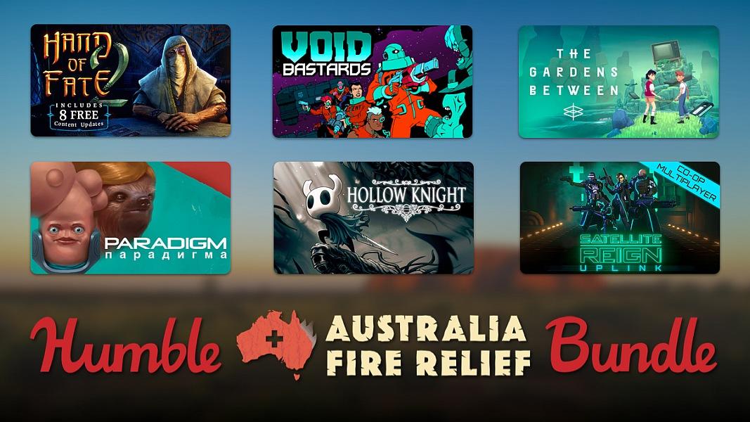 The Humble Australia Fire Relief Bundle