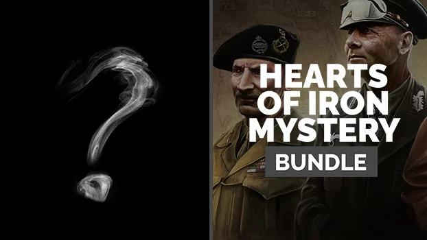 GMG Hearts of Iron Mystery Bundle