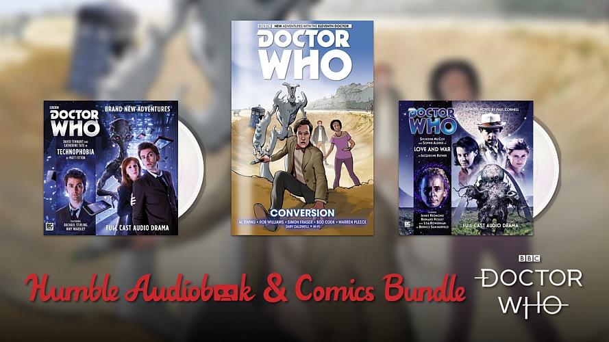 Humble Comics & Audiobook Bundle: Doctor Who