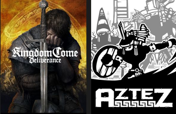 Free Games on Epic Games Store: Kingdom Come: Deliverance and Aztez