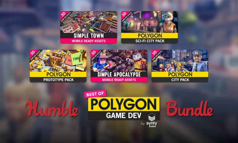 The Humble Best of POLYGON Game Dev Bundle