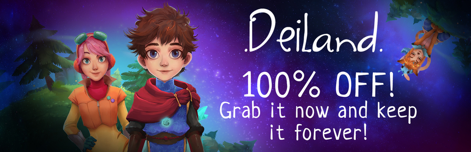 Get Deiland free on Steam for a limited time
