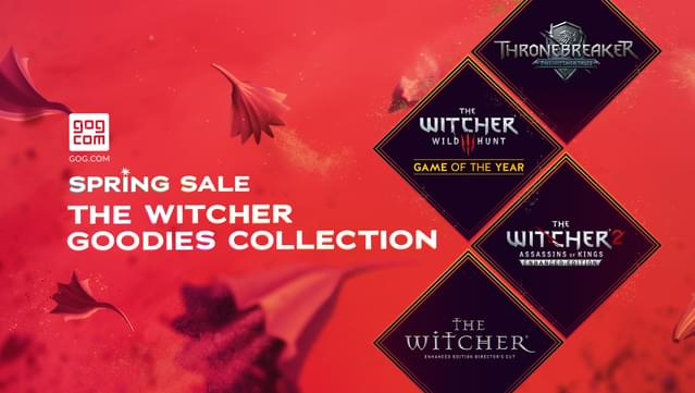 Get The Witcher Goodies Collection for FREE at GOG
