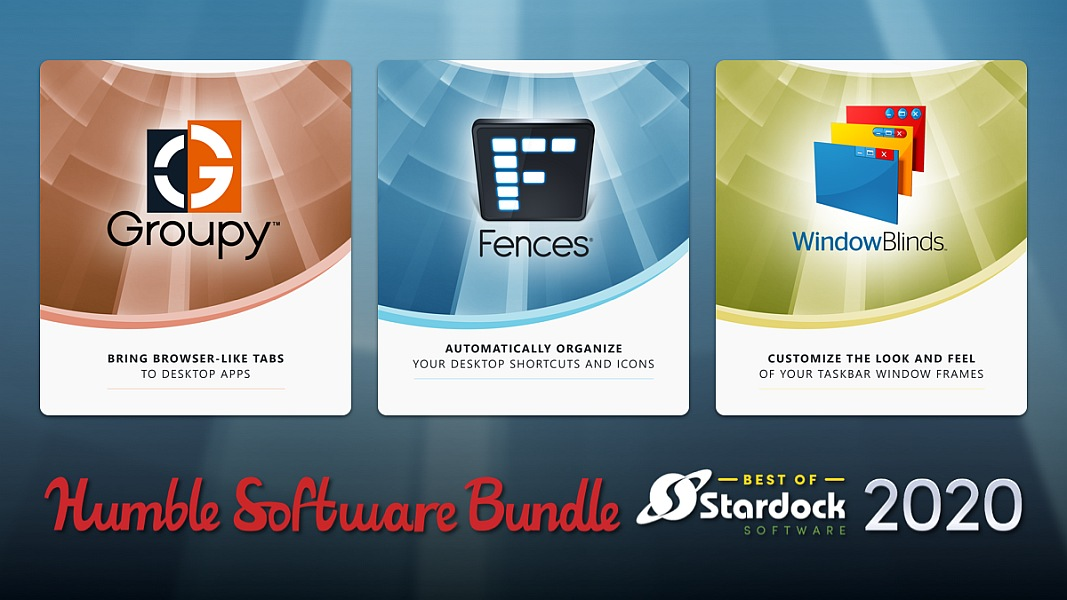 The Humble Software Bundle: Best of Stardock 2020