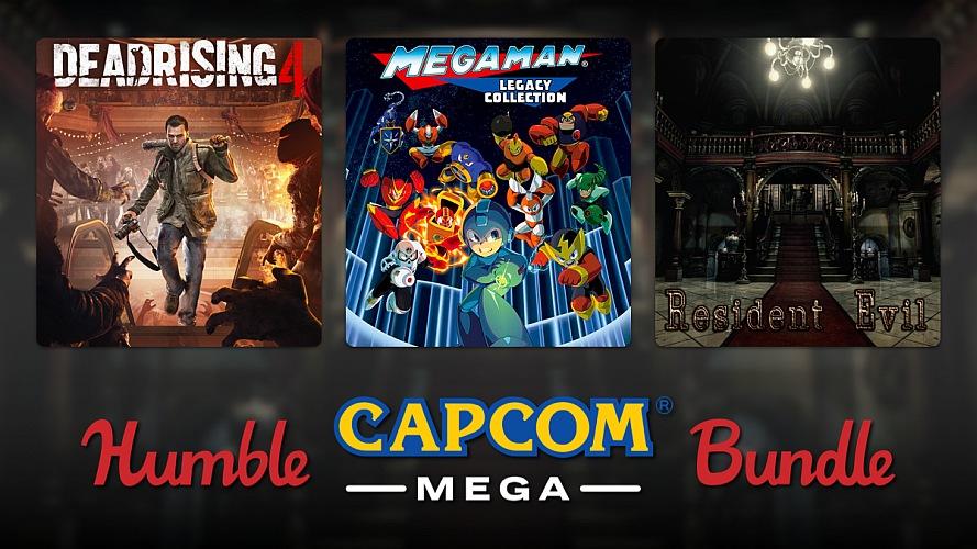The Humble CAPCOM Mega Bundle