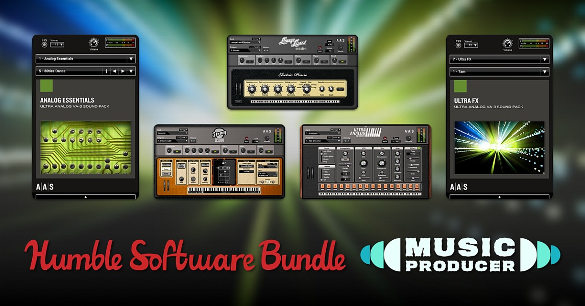 The Humble Software Bundle: Music Producer