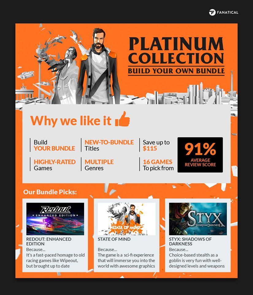 Fanatical Platinum Collection - Build Your Own Bundle