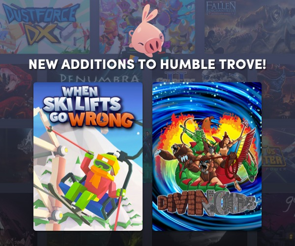 New games added to Humble Trove