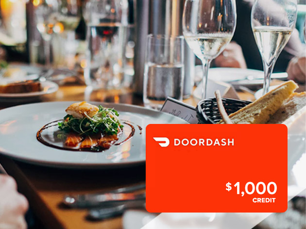 Just go to The $1,000 DoorDash Gift Card Giveaway contest page, sign up for a free membership, and claim your complimentary contest entry. Done deal.