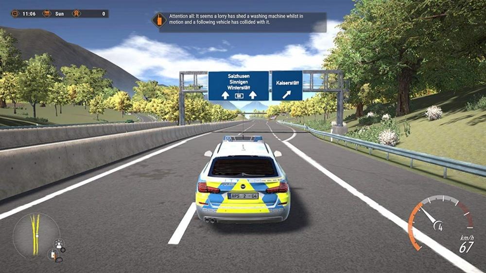 Free Game on Steam: Autobahn Police Simulator