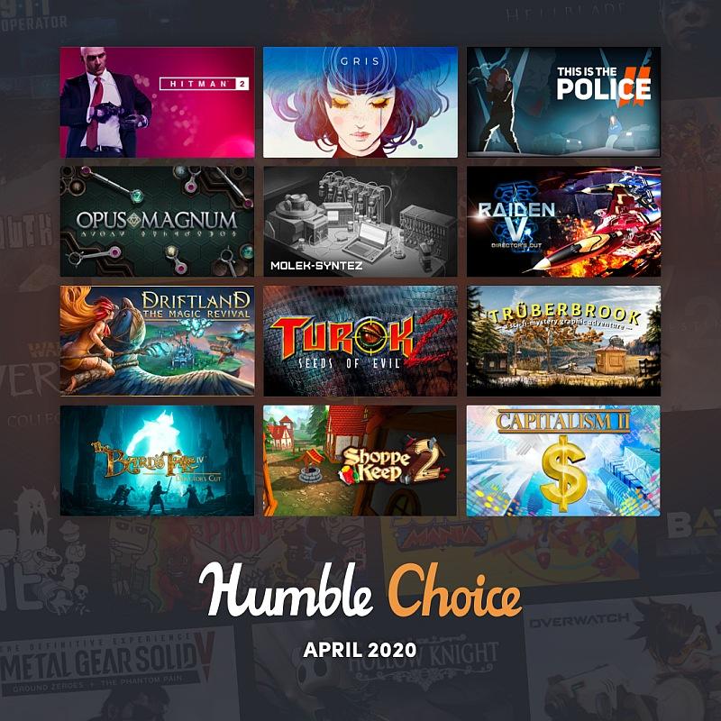 Humble Choice April 2020