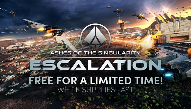 Ashes of the Singularity: Escalation is FREE on Humble Store