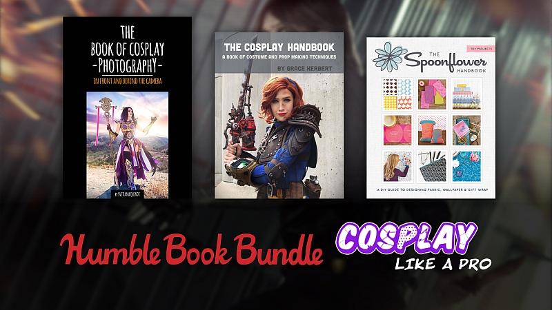 Humble Cosplay Like a Pro Book Bundle