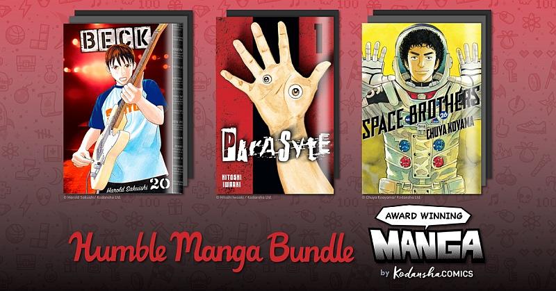 Humble Manga Bundle: Award Winning Manga by Kodansha Comics