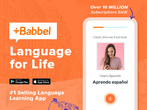 Learn 14 Languages with Lifetime Subscription to Babbel (60% off)