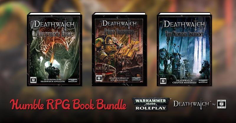 Humble RPG Book Bundle: Warhammer 40K Deathwatch