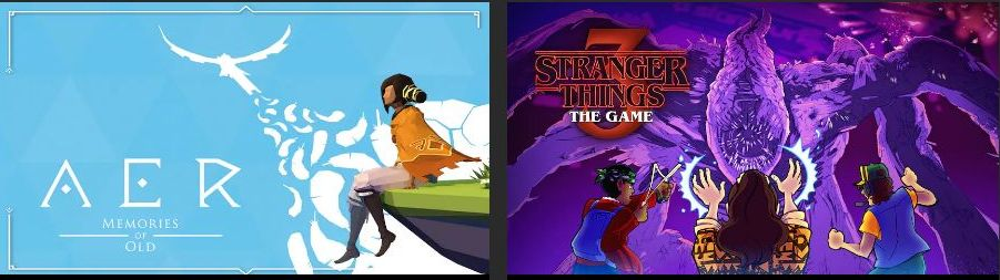 Free Games on Epic Games Store: AER Memories of Old and Stranger Things 3: The Game