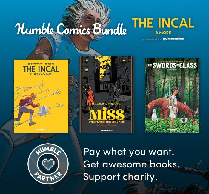 TheHumble Sci Fi Comics Bundle: The Incal & More