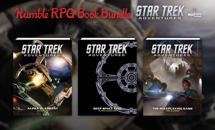 Humble RPG Book Bundle: Star Trek Adventures RPG