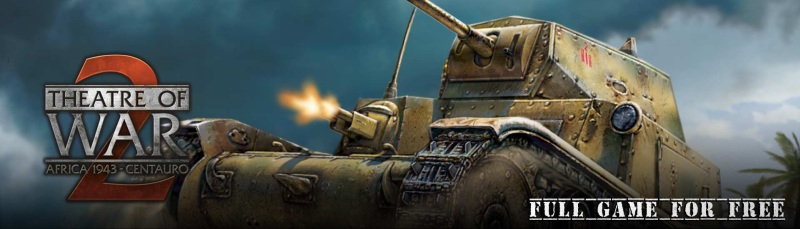 Free Game: Theatre of War 2: Centauro is free on IndieGala