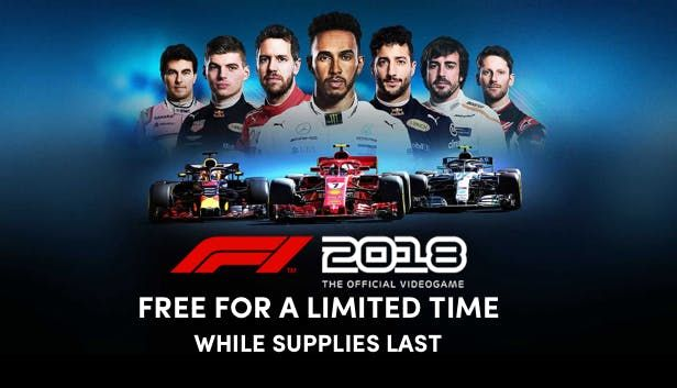 Get a free F1 2018 Steam Key at Humble Bundle