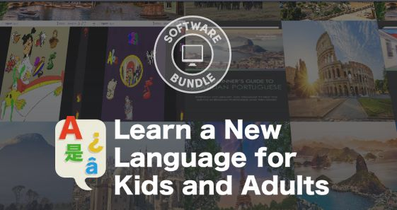 Humble Software Bundle: Learn a New Language for Kids and Adults
