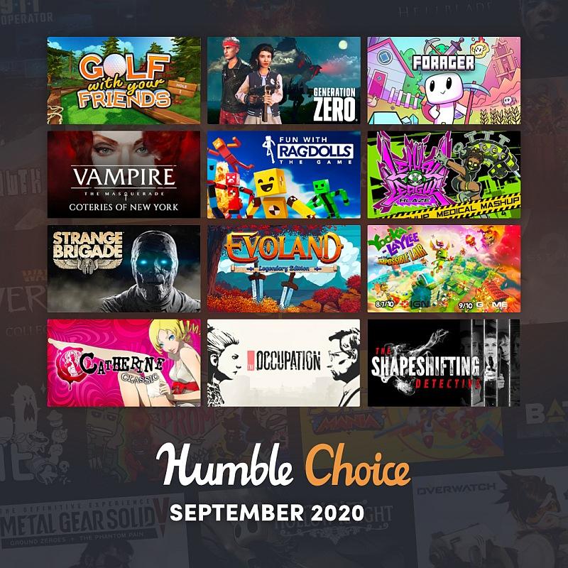 Humble Choice September 2020