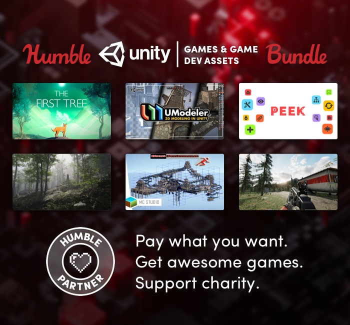 The Humble Unity Games and Game Dev Assets Bundle