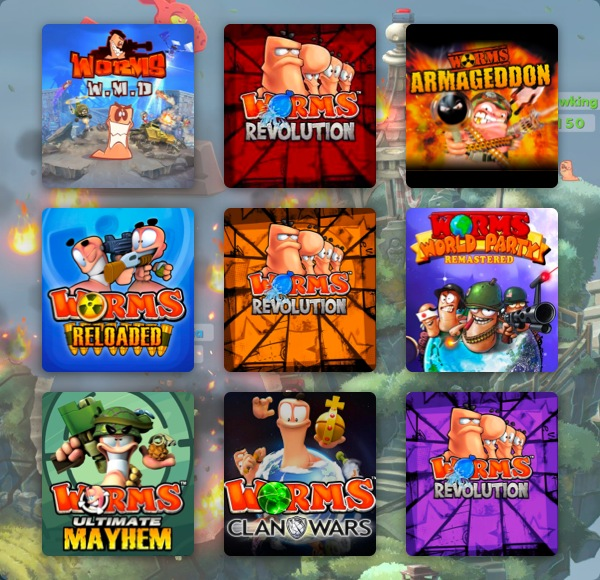 The Humble Worms! Worms! Worms! Bundle