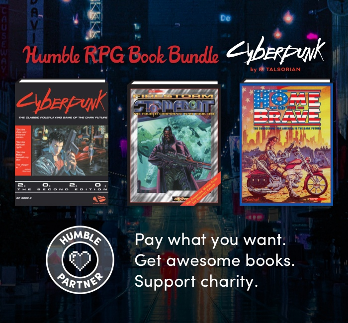 Humble RPG Book Bundle: Cyberpunk by R. Talsorian