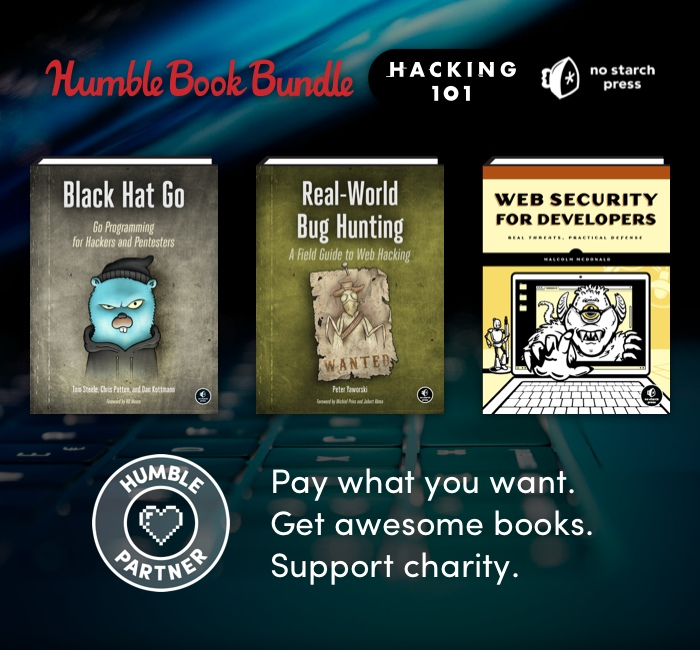 Humble Book Bundle: Hacking 101