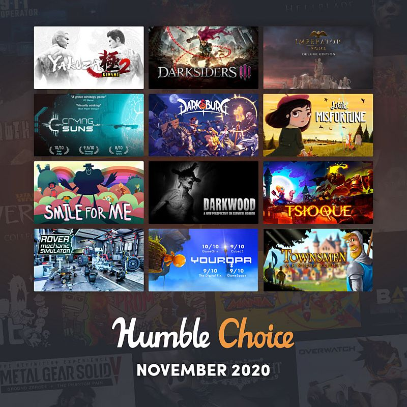Humble Choice November 2020