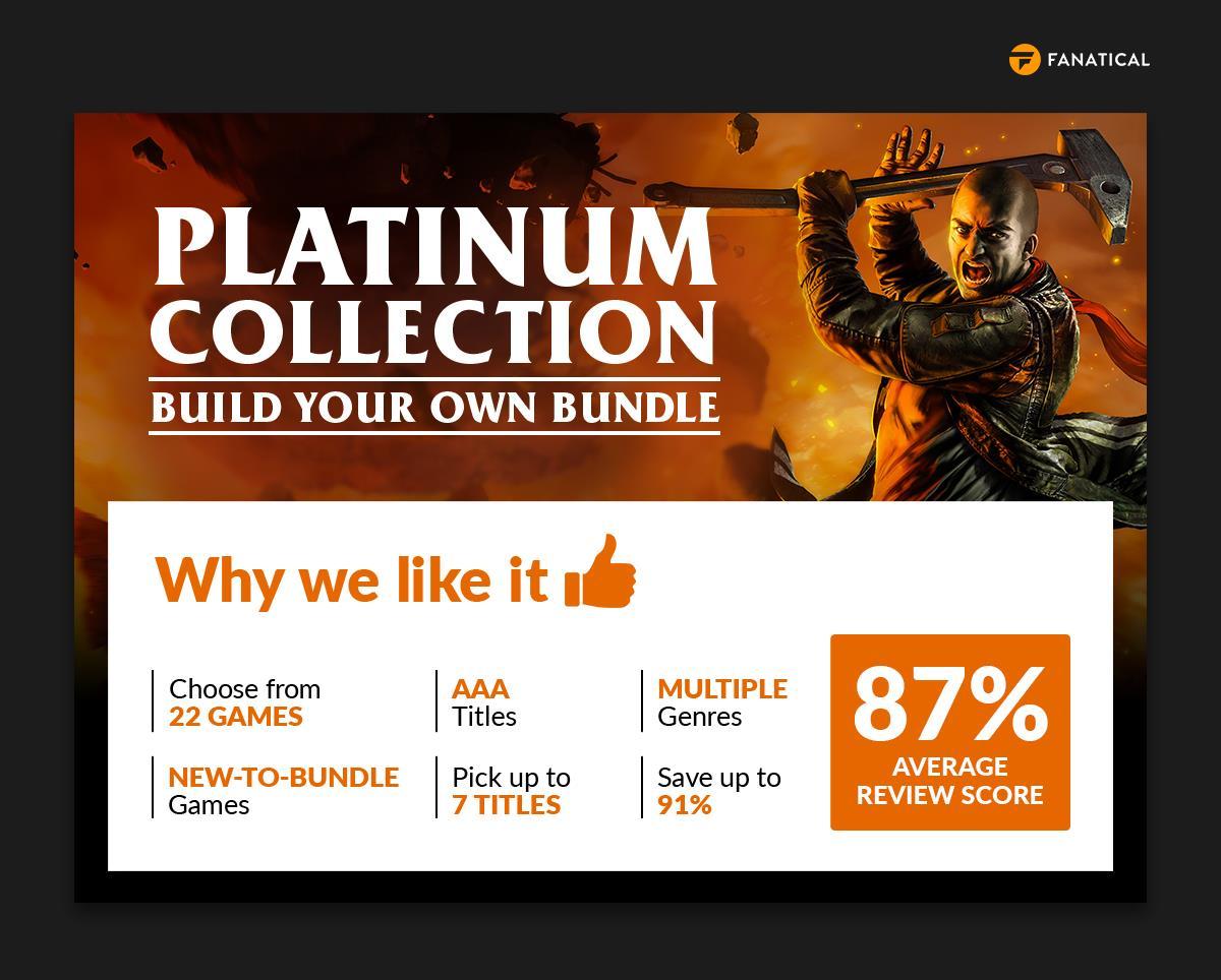 Fanatical Platinum Collection – Build Your Own Bundle January 2021