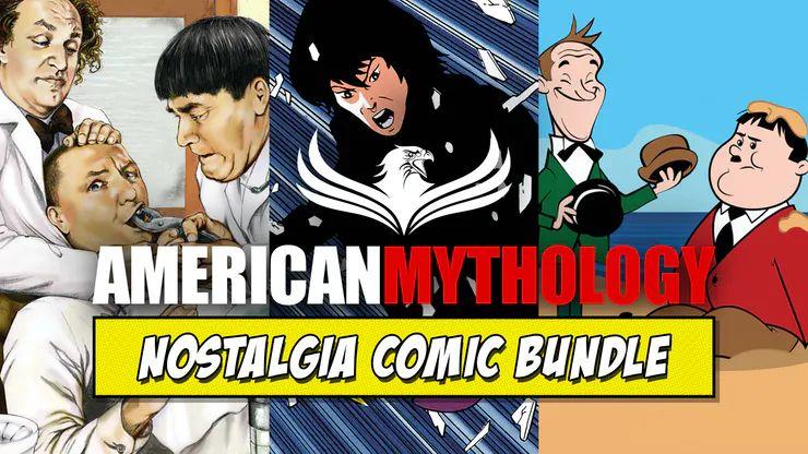 Fanatical American Mythology Nostalgia Comic Bundle + free comics