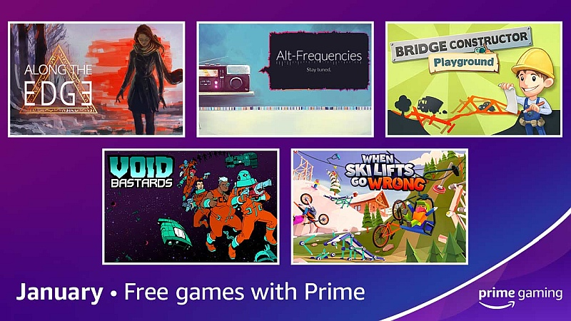 Free games with Amazon Prime Gaming for January 2021
